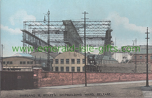 Belfast - Harland and Wolff - Shipbuilding Yard