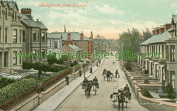 Antrim - Ballymena - From Station