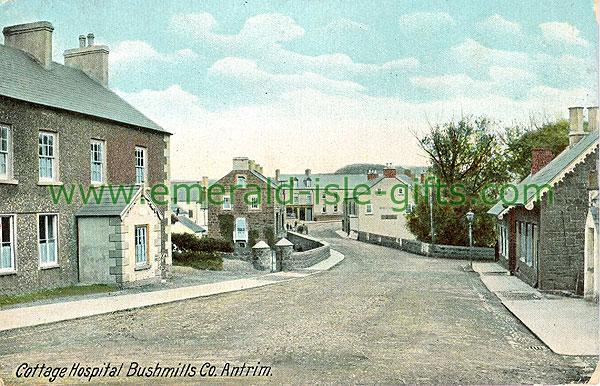Antrim - Bushmills - Cottage Hospital (old colour Irish photo)