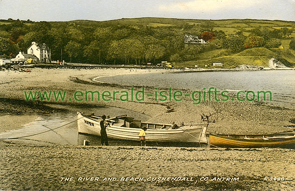 Antrim - Cushendall - River and Beach