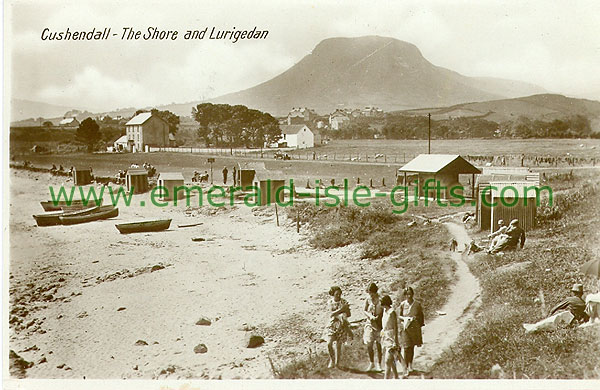 Antrim - Cushendall - The Shore and Lurigedan