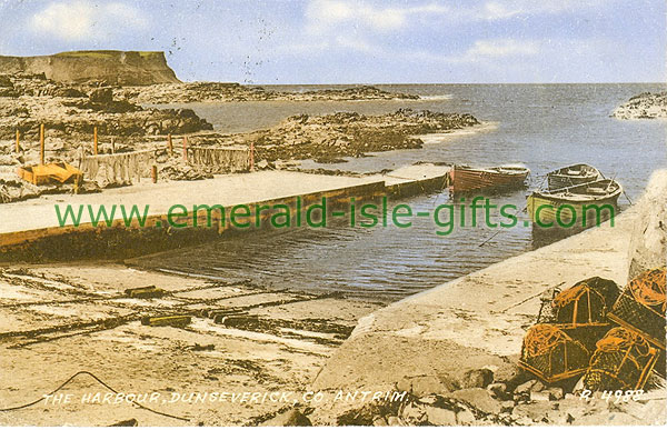 Antrim - Dunseverick - Coastal view