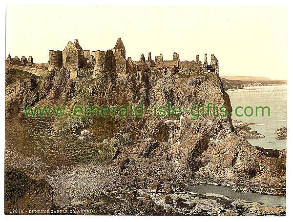 Antrim - Dunluce Castle - Stunning