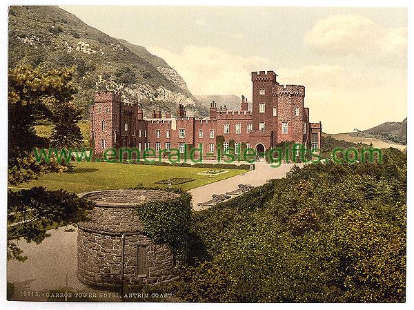 Antrim - Garron Tower Hotel - an old