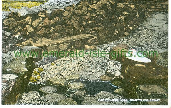 Antrim - Giants Causeway - The Wishing Well