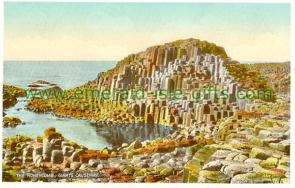 Antrim - Giants Causeway - The Honeycomb