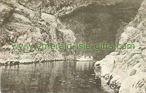 Antrim - Giants Causeway - Port Coon Cave