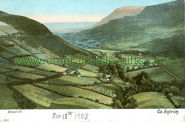 Antrim - Glenariffe - Valley view