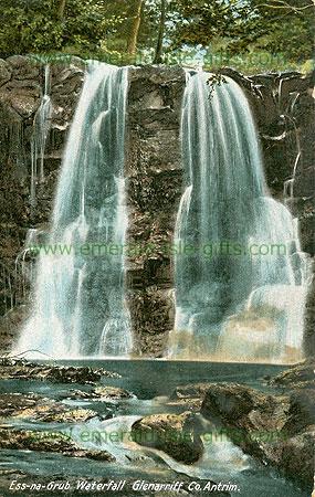 Antrim - Glenariffe - Ess-na-Grub Waterfall