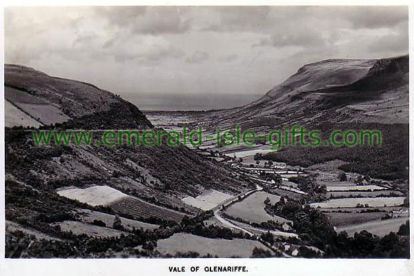 Antrim - The Vale of Glenariffe - old