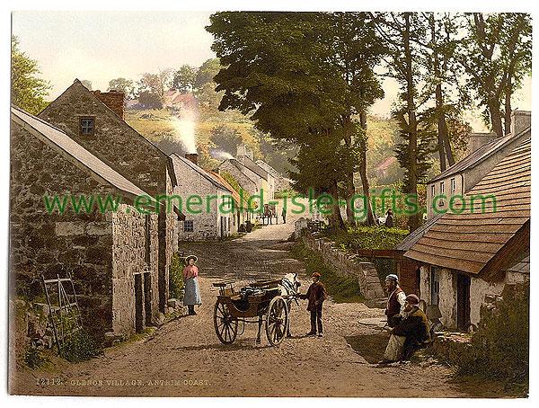 Antrim - Glenoe Village - in an old