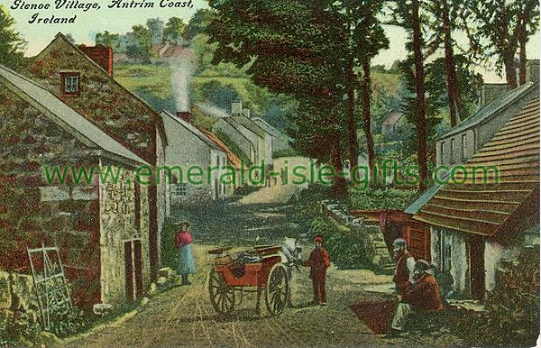 Antrim - Glenoe - Glenoe Village