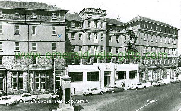 Antrim - Larne - b/w Laharna Hotel