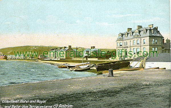 Antrim - Larne - Olderfleet Hotel & Bellevue Terraces