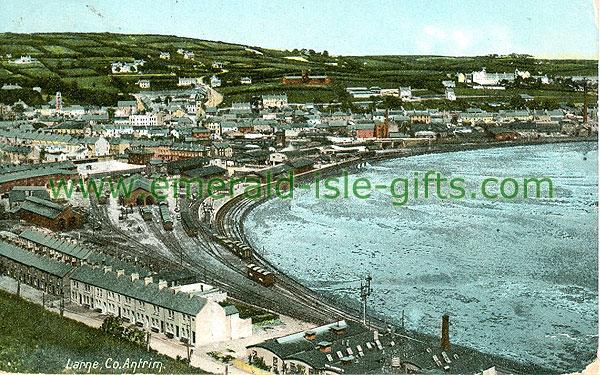 Antrim - Larne - Aerial Coastal View