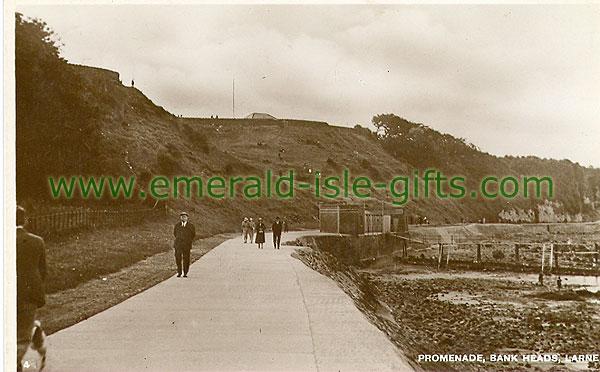 Antrim - Larne - Promenade, Bank Heads