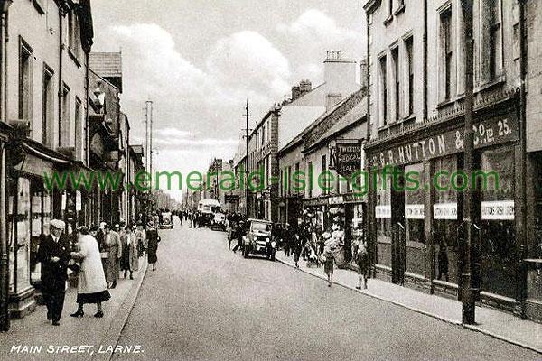 Antrim - Larne - Main St circa 1930