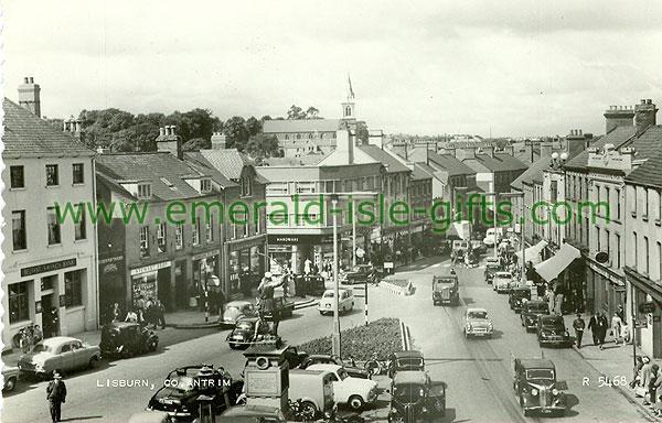 Antrim - Lisburn - Town view