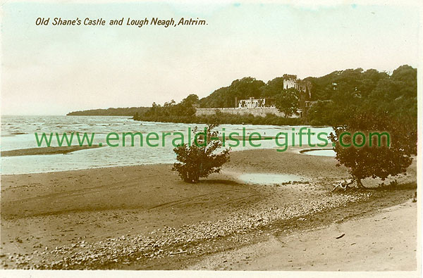 Antrim - Lough Neagh - Old Shanes Castle & Lough Neagh