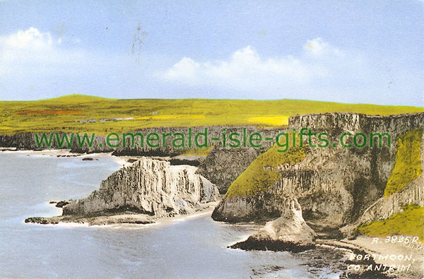 Antrim - Portmoon - Coastal view