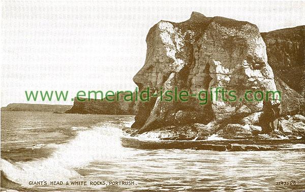 Antrim - Portrush - Giants Head & White Rocks