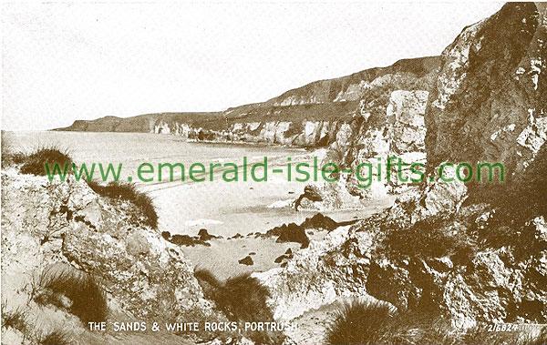 Antrim - Portrush - The Sands & White Rocks