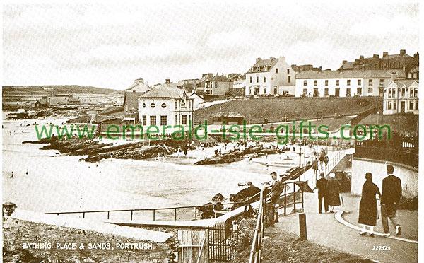 Antrim - Portrush - Bathing Place & Sands