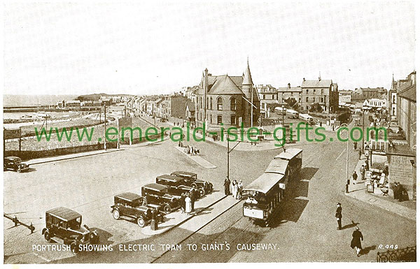 Antrim - Portrush - Electric Tram to Giants Causeway