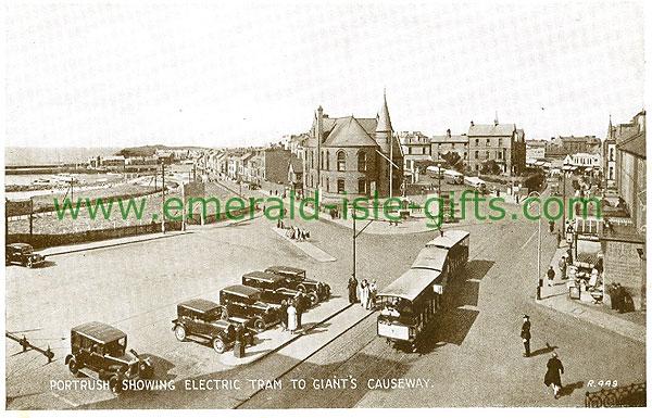 Antrim - Portrush - Electric Tram to Giants Causeway