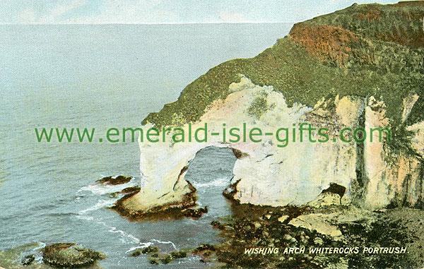 Antrim - Portrush - Wishing Arch and White Rocks