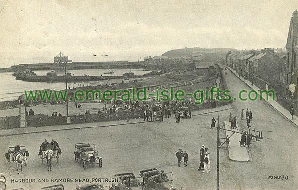 Antrim - Portrush - Harbour and Ramore Head