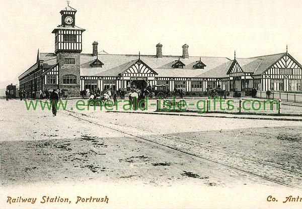 Antrim - Portrush - Train Station, Portrush