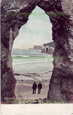Antrim - Portrush - The Natural Arch