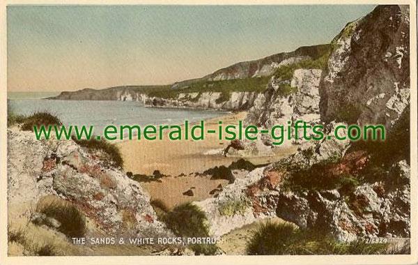Antrim - Portrush - Sands & White Rocks - colour