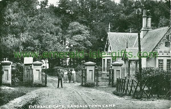 Antrim - Randalstown - Entrance Gate