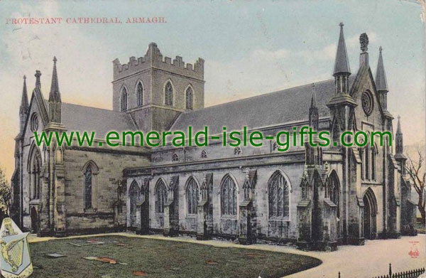 Armagh - Protestant Church - old photo