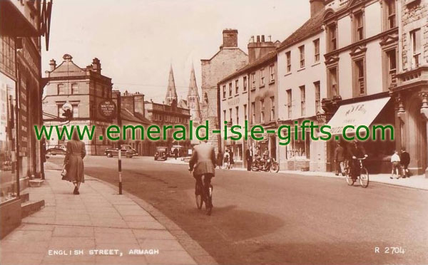 Armagh Town - great old b/w photo