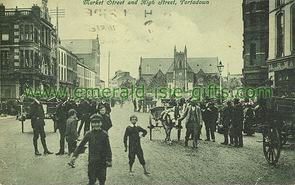 Armagh - Portadown - Market Street and High Street