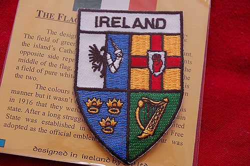 Irish Four Provinces Embroidered Badge Patch