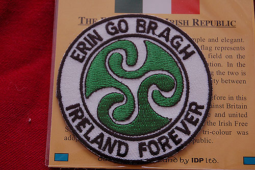 Erin Go Bragh Irish Embroidered Badge Patch