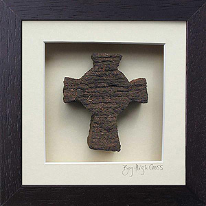 Celtic High Cross - Made from Turf