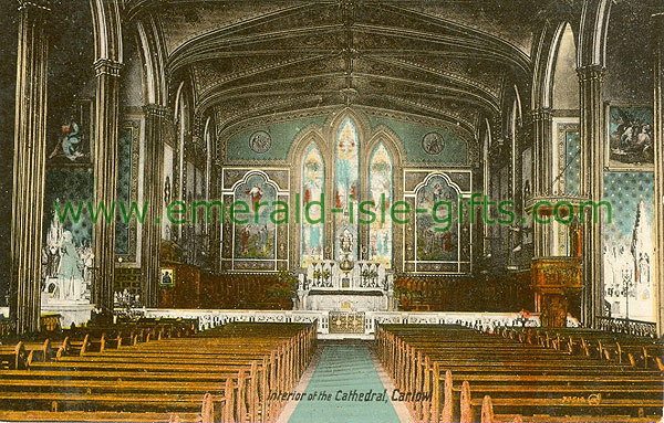 Carlow - Carlow Town - Interior of Cathedral