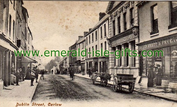 Carlow Town - Vintage Irish photo