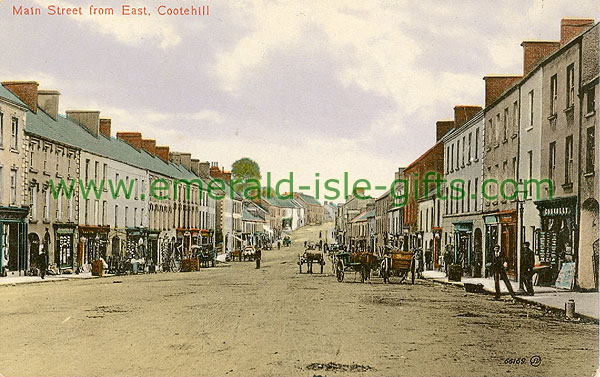 Cavan - Cootehill - Main St from East