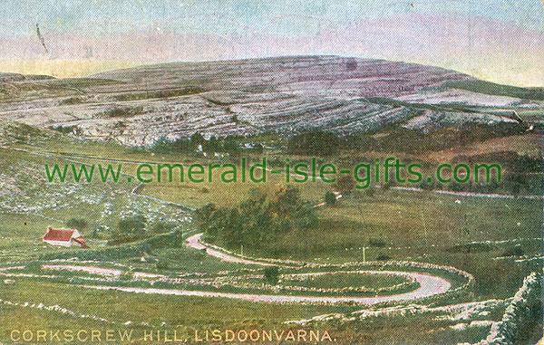 Clare - Lisdoonvarna - Corkscrew Hill