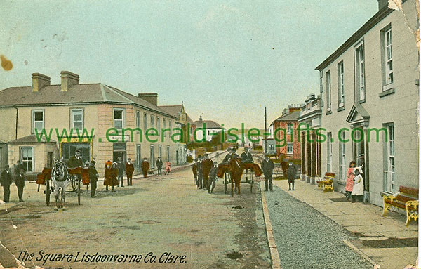 Clare - Lisdoonvarna - The Square