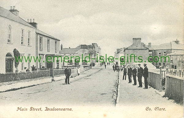 Clare - Lisdoonvarna - Main St