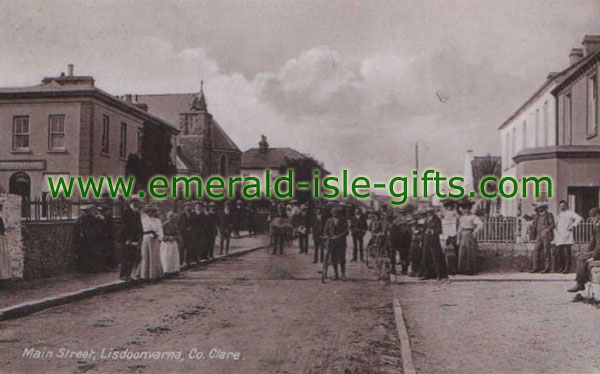 Clare - Lisdoonvarna - old Irish photo