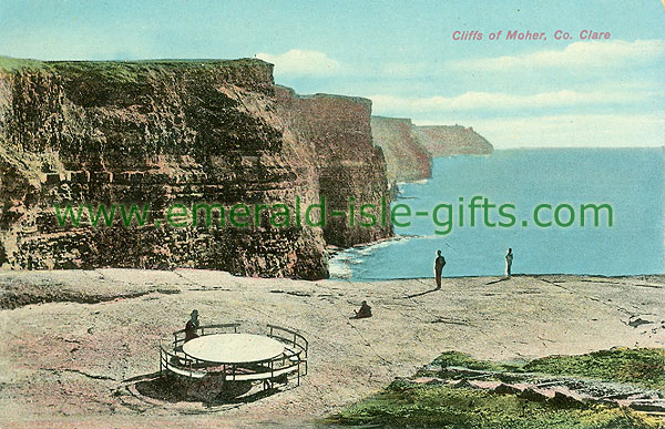 Clare - Cliffs of Moher - Cliffs - colour