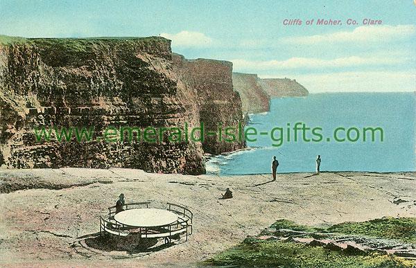 Clare - Cliffs of Moher - Cliffs - colour